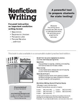 Nonfiction Writing, Grade 2