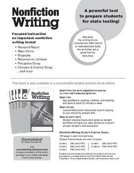 Nonfiction Writing, Grade 4