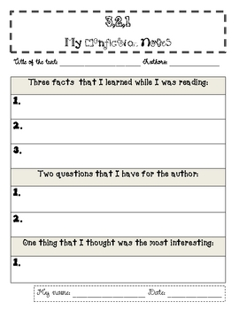 Writing a nonfiction paragraph elementary