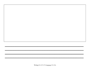 Nonfiction Writing Organizer with Blank Book Printable