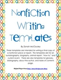 Nonfiction Writing Templates