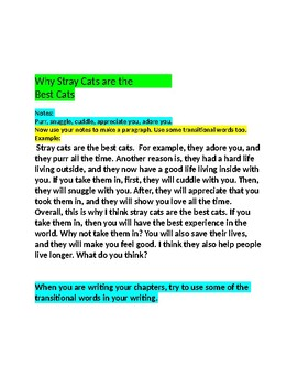 Nonfiction Writing Tips for Days 7 and 8