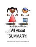 Nonfiction and Fiction -All About Summary!