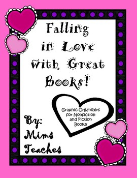 Nonfiction and Fiction Graphic Organizers to Fall In Love With Reading