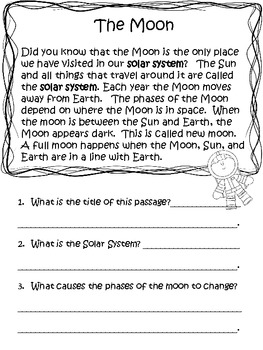 Nonfiction and Fiction Reading Response Text Features
