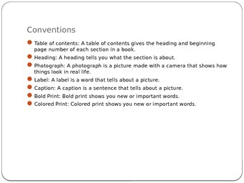 Nonfiction convention powerpoint