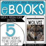 Nonfiction eBOOKS {Great Predators Edition FREEBIE}