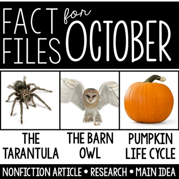 Nonfiction for October