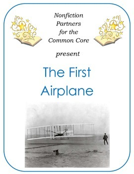 Nonfiction for the Common Core:  The First Airplane
