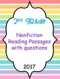 Nonfiction passages with questions