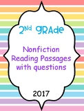 Nonfiction passages with questions
