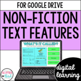 Nonfiction Text Features for Google Classroom + Digital Easel Activity