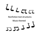 Nonfiction text structures Music Themed