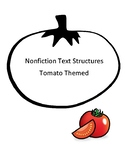 Nonfiction text structures - tomato themed