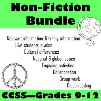 Nonfiction w/ Engaging Activities Bundle