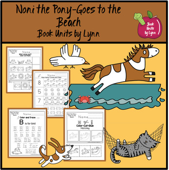 Noni the Pony-Goes to the Beach