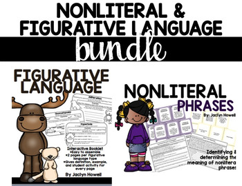 Nonliteral Language & Figurative Language BUNDLE