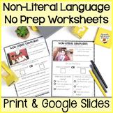 Nonliteral Language: One Page, No Prep Activities