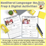 Nonliteral Language: One Page, No Prep Activities: Print a