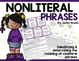 Nonliteral Language & Phrases Activities