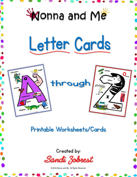 Nonna and Me Letter Cards