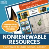 Nonrenewable Energy Resources Complete 5E Lesson