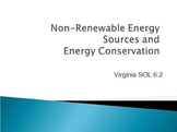 Nonrenewable Resources, Fossil Fuels, and Energy Conservat