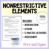 Nonrestrictive Elements Unit Print & Digital