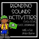 Nonsense Activity Bundle, CCVC, CVCC, CVCe, digraphs