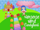 Nonsense CVC Word Candyland