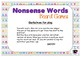 Nonsense CVC Words Board Games
