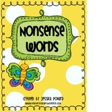 Nonsense CVC Words