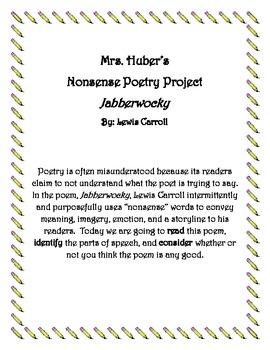 Nonsense Poetry: Jabberwocky