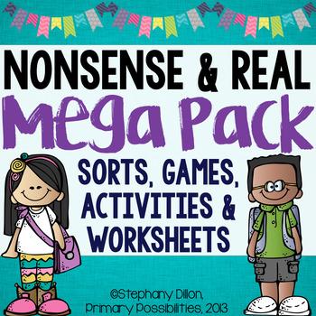 Nonsense & Real Word CVC Mega Pack