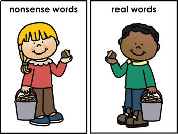 Nonsense & Real Word Sort Collecting Acorns