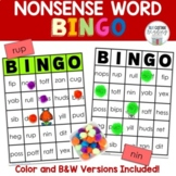 Nonsense Word Bingo: Closed Syllables Level One