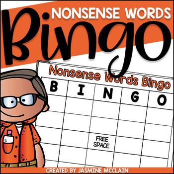 Nonsense Words Bingo-Nonsense Words Practice