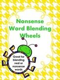 Nonsense Word Blending Wheels