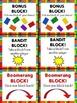 Nonsense Words with Blocks