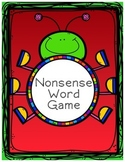 Nonsense Word Bug Game