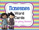 Nonsense Word Cards