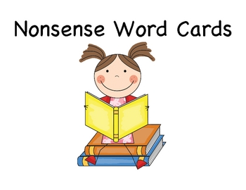 Nonsense Word Cards Dibels and Dibels Next Practice