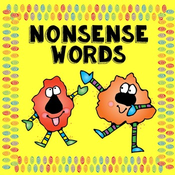 Nonsense Word Center Activities and Printables