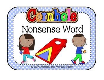 Nonsense Word  Cornhole (Real vs Nonsense)