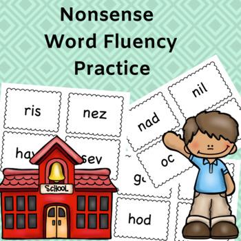 Nonsense Word Decoding practice