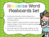 Nonsense Word Flashcards