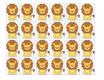Spring Nonsense Word Fluency  RTI Resource Games (Lions and Lambs)