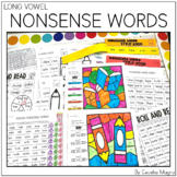 Nonsense Word Fluency Activities and Games Long Vowels