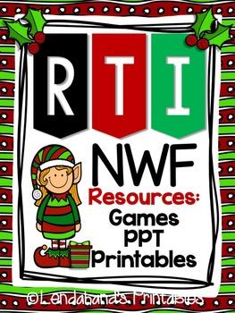 Nonsense Word Fluency Pack by Ms. Lendahand (Elf Theme)