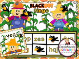 Nonsense Word Fluency BLACKout Bingo Game (SCARECROW Theme)